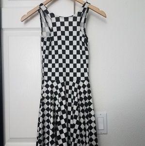 3399ca029b Blackmilk Dresses - Blackmilk indy check skater dress